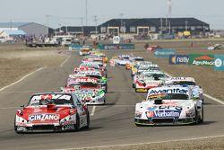 Matias Rossi, Donto Racing Chevrolet, Leonel Sotro, Alifraco Sport Ford, Juan Pablo Gianini, JPG Racing Ford, Federico Alonso, Taco Competicion Torino