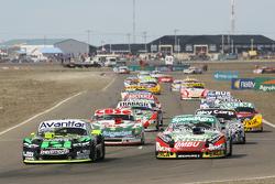Mauro Giallombardo, Maquin Parts Racing Ford, Facundo Ardusso, Trotta Competicion Dodge, Carlos Okul