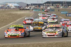 Jonatan Castellano, Castellano Power Team Dodge, Sergio Alaux, Coiro Dole Racing Chevrolet, Leonel Pernia, Las Toscas Racing Chevrolet