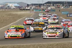 Jonatan Castellano, Castellano Power Team Dodge, Sergio Alaux, Coiro Dole Racing Chevrolet, Leonel P