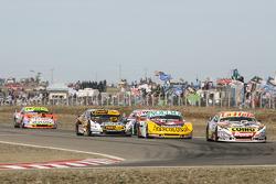 Sergio Alaux, Coiro Dole Racing Chevrolet, Nicolas Bonelli, Bonelli Competicion Ford, Leonel Pernia,