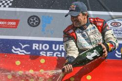 Il vincitore della gara Norberto Fontana, Laboritto Jrs Torino
