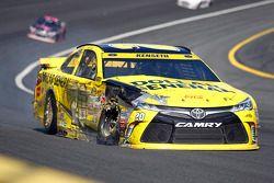 Matt Kenseth, Joe Gibbs Racing Toyota, mit Unfall