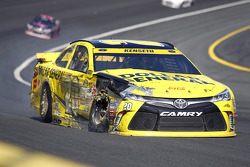 Matt Kenseth, Joe Gibbs Racing Toyota, mit Unfall