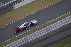 全新的Liger JS LMP3赛车驰骋在富士赛道