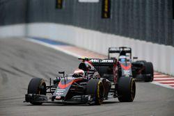 Jenson Button and Fernando Alonso, McLaren