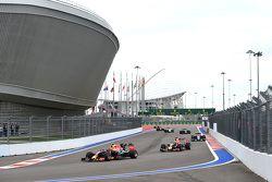 Daniil Kvyat and Daniel Ricciardo, Red Bull Racing