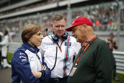 Claire Williams, Williams and Niki Lauda, Mercedes
