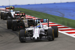 Felipe Massa, Williams and Pastor Maldonado, Lotus F1