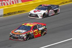 Austin Dillon, Richard Childress Racing Chevrolet; Matt Dibenedetto, BK Racing Toyota