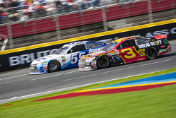 David Ragan, Michael Waltrip Racing Toyota et Austin Dillon, Richard Childress Racing Chevrolet