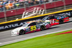 Michael McDowell et Tony Stewart, Stewart-Haas Racing Chevrolet