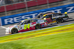 Jeff Gordon, Hendrick Motorsports Chevrolet et Ryan Newman, Richard Childress Racing Chevrolet