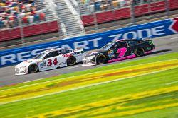 Brett Moffitt et Alex Bowman, Tommy Baldwin Racing Chevrolet