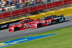 Josh Wise, BK Racing Toyota; Cole Whitt, Front Row Motorsports Ford