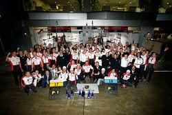 Porsche Team celebrate