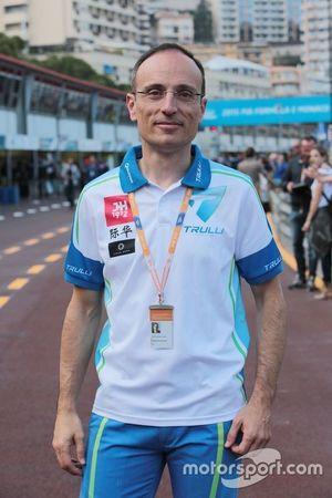 Francesco Guarnieri, CEO del Team Trulli