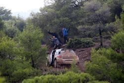 La Citroen DS3 R6 incidentata di Robert Consani e Maxime Vilmot