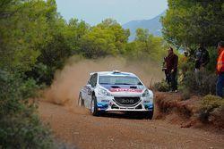 Charles Martin e Thierry Salva, Peugeot 208 T16 R5