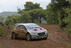 Charles Martin e Thierry Salva, Peugeot 208 T16 R6