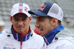 Stephane Sarrazin, Sebastien Buemi, Toyota Racing