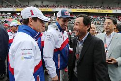Anthony Davidson, Sebastien Buemi, Toyota Racing