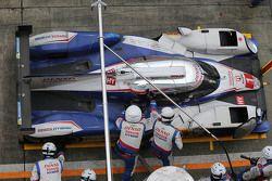 #1 Toyota Racing Toyota TS040 Hybrid : Sébastien Buemi, Anthony Davidson, Kazuki Nakajima