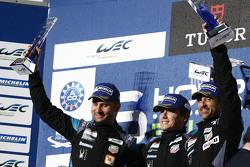 Ganadores GTE-Am class Patrick Dempsey, Patrick Long, Marco Seefried, Dempsey Proton Competition