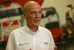 El Dr. Wolfgang Ullrich, jefe de Audi Sport