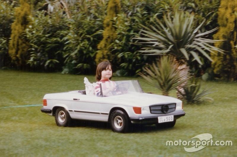 Nelsinho Piquet quando criança