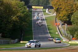 Partenza Gara 1: Mat Jackson, Motorbase Performance Ford Focus al comando