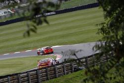 Mike Bushell, AmD Tuningcom Ford Focus and Jeff Smith, Eurotech Racing Honda Civic