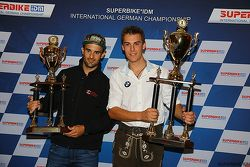 Second place overall Javier Fores, and 2015 Champion Markus Reiterberger