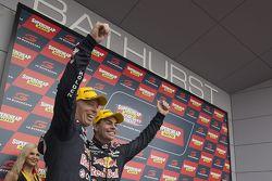 Podium: 1. Craig Lowndes und Steven Richards, Triple Eight Race Engineering, Holden