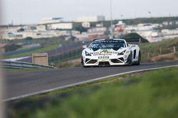 #25 Reiter Engineering Lamborghini Gallardo R-EX: Tomas Enge, Jaap van Lagen