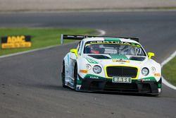 #7 Bentley Team HTP Bentley Continental GT3: Tom Dillmann, Luca Stolz
