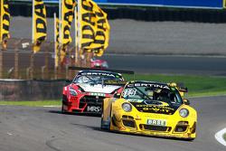 #36 Schütz Motorsport, Porsche 911 GT3 R: Klaus Bachler, Martin Ragginger