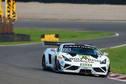 #25 Reiter Engineering, Lamborghini Gallardo R-EX: Tomas Enge, Jaap van Lagen