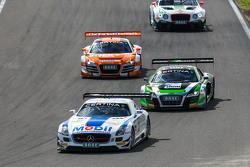 #21 Team Zakspeed Mercedes SLS AMG GT3: Sebastian Asch, Luca Ludwig