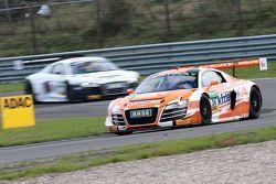 #24 MS Racing Audi R8 LMS ultra: Marc Basseng, Florian Stoll