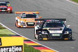 #2 C. Abt Racing Audi R8 LMS ultra: Jordan Lee Pepper, Nicki Thiim