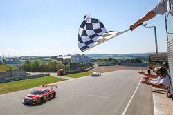 Winners #1 C. Abt Racing Audi R8 LMS ultra: Kelvin van der Linde, Stefan Wackerbauer