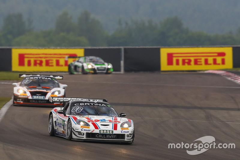 #66 Callaway Competition Corvette Z06.R GT3: Daniel Keilwitz, Andreas Wirth