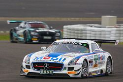 #21 Zakspeed Takımı Mercedes SLS AMG GT3: Sebastian Asch, Luca Ludwig
