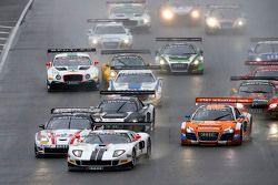 #14 Lambda Performance Ford GT GT3: Nico Verdonck, Frank Kechele leads