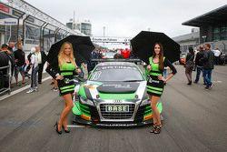 Grid kızları, #16 Yaco Racing Audi R8 LMS ultra: Rahel Frey, Philip Geipel