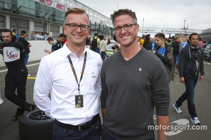 Lars Soutschka with Ralf Schumacher
