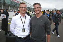 Lars Soutschka mit Ralf Schumacher