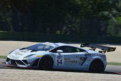 Fabio Babini e Andrea Ceccato, Imperiale Racing, Lamborghini Gallardo GT3 #54