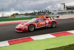 Massimiliano Mugelli e Daniele Di Amato, MP1 Corse, Ferrari 458 italia GT3 #9